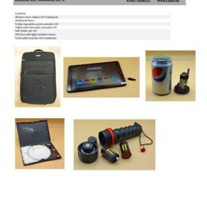AIRLINE IED TRAINING KIT 2