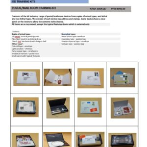 POSTAL/MAIL ROOM TRAINING KIT