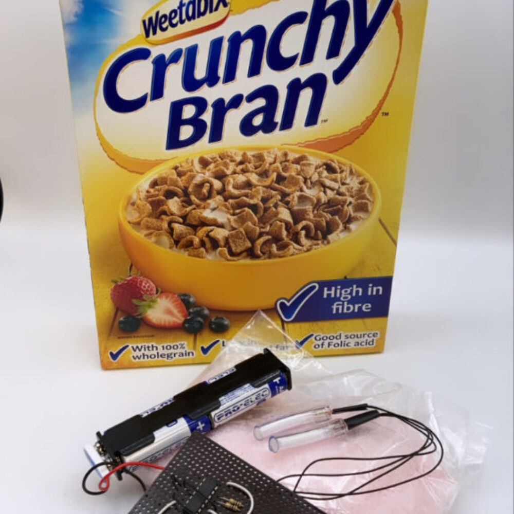 Cereal box IED