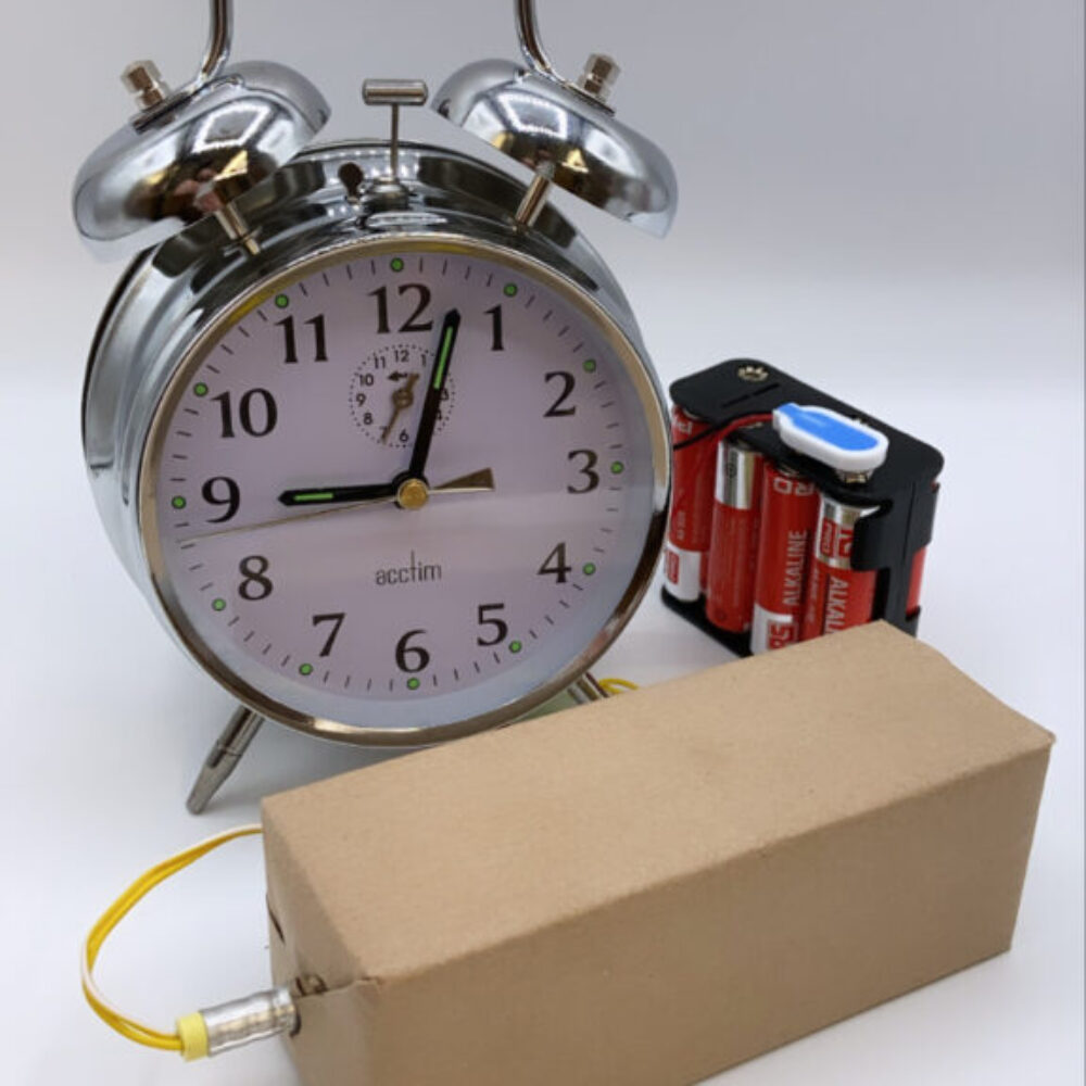 Mechanical alarm clock TPU