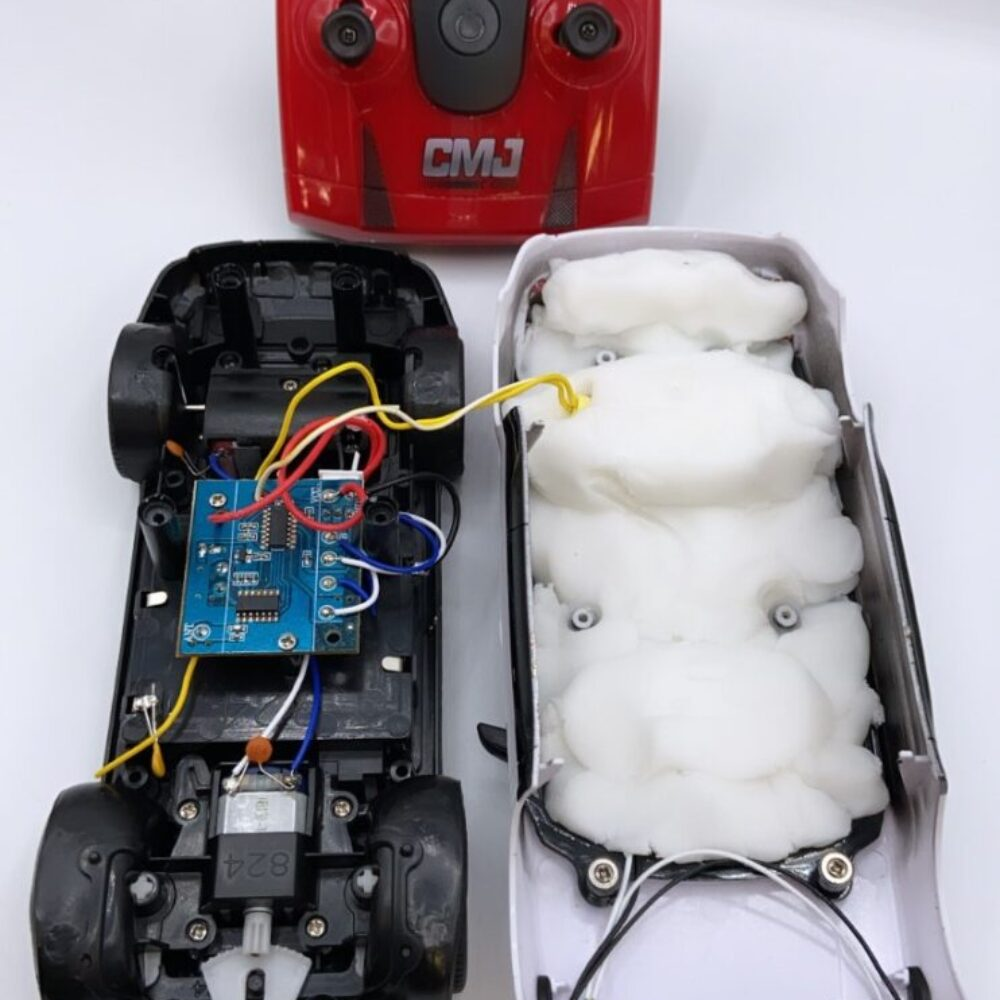 Radio Control car IED 2