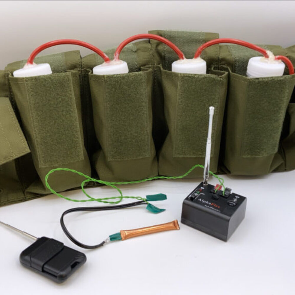 Radio control suicide vest